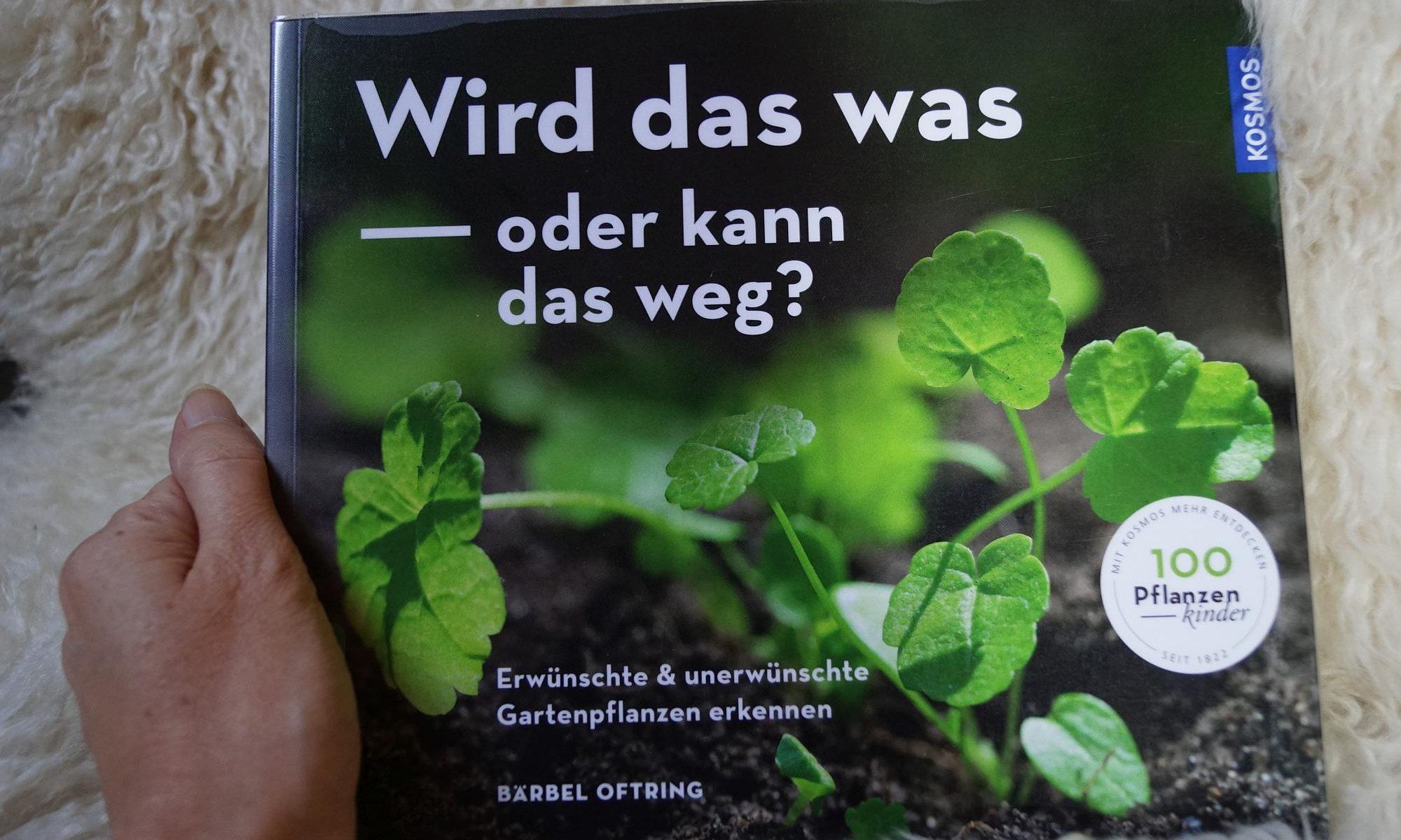 """Gartenbuch """"Wird das was..."""""""